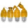 Светильник натриевый. Взрывозащищенные светильники подвесные (для ртутных, натриевых и металлогалогенных ламп мощностью до 400 Вт) типа ВАД61